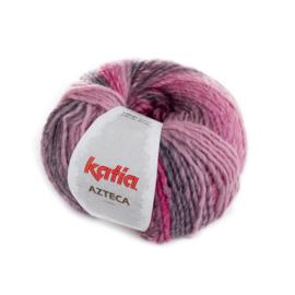 Katia Azteca 7857 - Bleekrood-Grijs