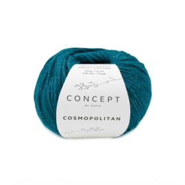 Katia Concept Cosmopolitan 83 - Groenblauw