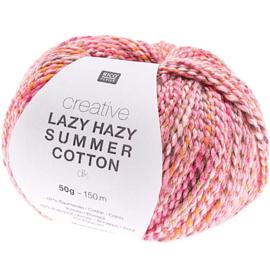 Rico Creative Lazy Hazy Summer Cotton 006 fuchsia
