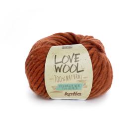 Katia Love Wool 114 - Medium oranje