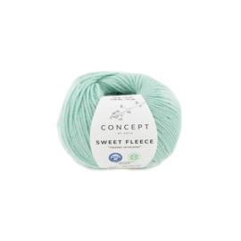Katia Concept Sweet Fleece 65 - Blauwgroen