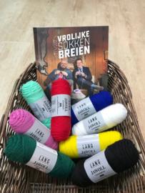 Lang Yarns Jawoll Superwash sokken pakket 8 bollen naar keuze