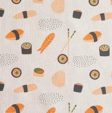 C18 - Sushi Canvas