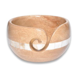 Durable houten Yarn Bowl 020.1070
