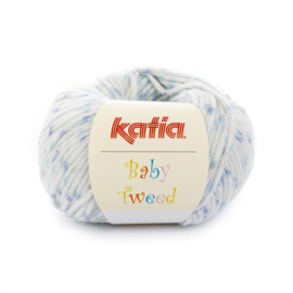 Katia Baby Tweed 202 - Blauw-Medium blauw