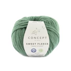 Katia Concept Sweet Fleece 77 - Mintturquoise