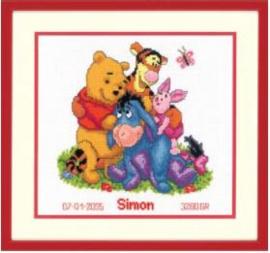 Winnie de pooh en vrienden Aida