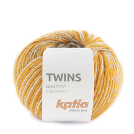 Katia Twins 160 - Oranje-Licht bruin