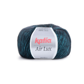 Katia Air Lux 66 - Pastelturquoise-Zwart