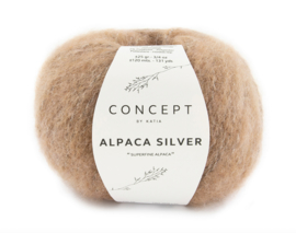 Katia Concept Alpaca Silver 273 - Licht bruin-Zilver
