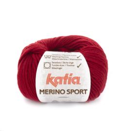 Katia Merino Sport 21 - Wijnrood