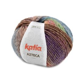 Katia Azteca 7876 - Lila-Groen-Oranje-Bruin