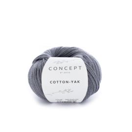Katia Concept Cotton-Yak 113 - Antracietgrijs