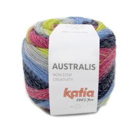 Katia Autralis 207 - Pistache-Fuchsia-Jeans