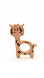 Durable bijtring hout giraffe