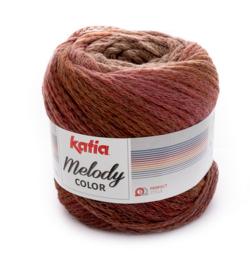 Katia Melody Color 307 - Reebruin-Roestbruin-Lila