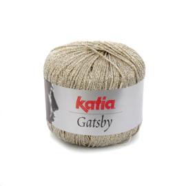 Katia Gatsby 51 - Licht grijs-Goud