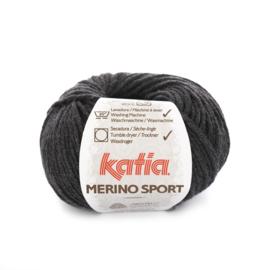 Katia Merino Sport 402 - Zeer donker grijs