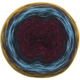 Rico Creative Wool Dégradé Super6 006 mosterd-rood