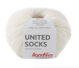 Katia United Socks 5 - Ecru