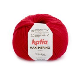 Katia Maxi Merino 4 - Rood
