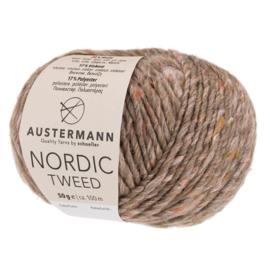 Austermann Nordic Tweed 12 aardebruin