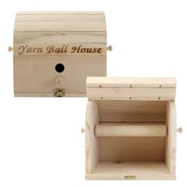 Scheepjes Yarn ball house-garen huis esdoornhout