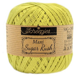 Scheepjes Maxi Sugar Rush 245 Green Yellow