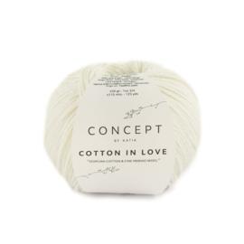 Katia Concept Cotton in Love 50 - Ecru-Wit