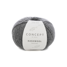 Katia Concept Kashwool 'Socks&More' 307 - Donker grijs