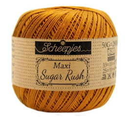 Scheepjes Maxi Sugar Rush 383 Ginger Gold
