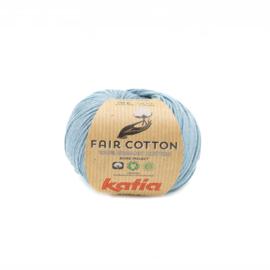 Katia Fair Cotton 41 - Grijsblauw