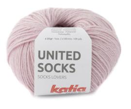 Katia United Socks 14 - Bleekrood