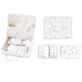 BA2 - Patroon Tas voor pasgeboren hoes voor luiers en doekjes