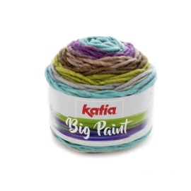 Katia Big Paint 204 - Groen-Lila