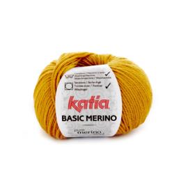Katia Basic Merino 41 - Mosterdgeel