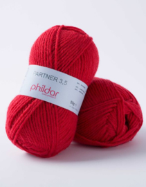 Phildar Partner 3,5 Rouge