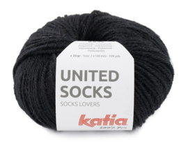 Katia United Socks 10 - Zwart