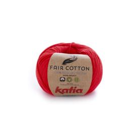 Katia Fair Cotton 4 - Rood