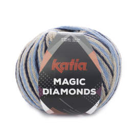 Katia Magic Diamonds 52 - Jeans-Beige
