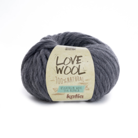 Katia Love Wool 107 - Grijs