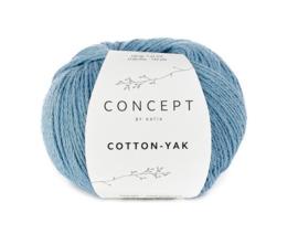 Katia Concept Cotton-Yak 124 - Lichtblauw