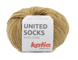 Katia United Socks 3 - Camel