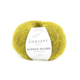 Katia Concept Alpaca Silver 270 - Mosterdgeel-Zilver
