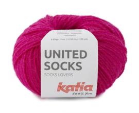 Katia United Socks 15 - Fuchsia