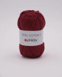 Phildar Coton 3 Aubergine