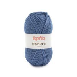 Katia Promo Fin 873 - Azuurblauw