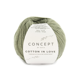 Katia Concept Cotton in Love 59 - Bleekgroen