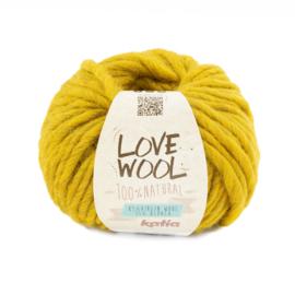 Katia Love Wool 128 - Mosterdgeel