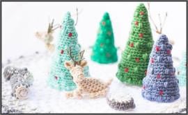 Amigurumi mini wereld kerstmis